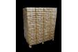 Dřevěné brikety InECO RUF (100% BUK), paleta 100x10kg, 1000 kg