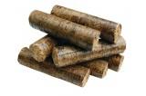 Dřevěné brikety InECO ROUND (100% DUB) paleta 96x10kg, 960 kg