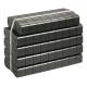 Balené uhelné brikety REKORD 25 kg (balení paleta 40x25kg) 1000 kg